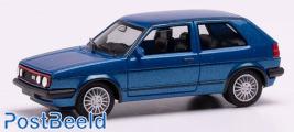 VW Golf II GTI Blue metallic