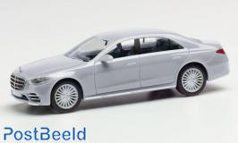 Mercedes-Benz S-class silver metallic