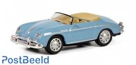 Porsche 356 A Speedster, blue