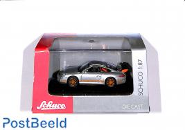 Porsche 911 (997) GT3 RS, silver