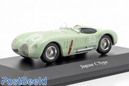 Jaguar C-type #50 Stirling Moss GP Reims 1952