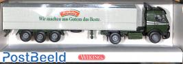 flatbed truck MB Hengstenberg