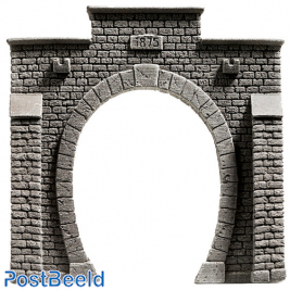Single Track Tunnel Portal (13.5x12.5cm)