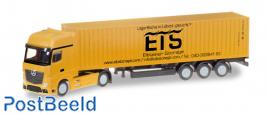 """Mercedes-Benz Actros Gigaspace LH container trailer """"Elbtainer Storage"""""""
