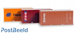 "Container-Set 3x20 ft. ""Hapag Lloyd / TAL / Triton"""