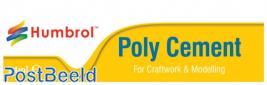 Humbrol Precision modelbouwlijm poly cement 24ml. Tube