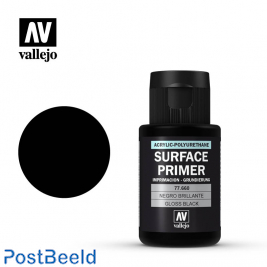 Vallejo Surface Primer Gloss Black 32ml #77.660
