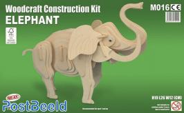 Elephant Woodcraft Kit