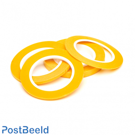 Precision Masking Tape Set of 4 (1, 2, 3 & 6mm x 18m)