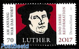 Luther, 500 Years Reformation 1v, Joint Issue Brazil