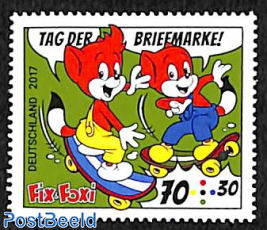 Stamp Day, Fix & Foxi 1v