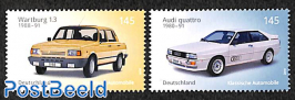 Automobiles 2v (Audi Quattro, Wartburg 1.3)