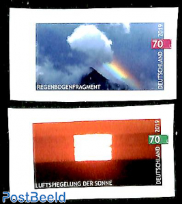 Mirage of the sun and rainbow 2v s-a