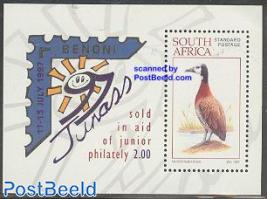 JUNASS & Youth philately s/s