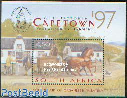 Cape stamp show s/s