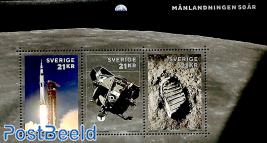 50 years Moonlanding s/s