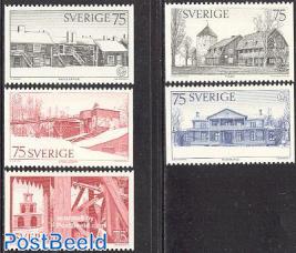 European architectural heritage 5v