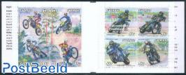 Motor sports 8v in booklet