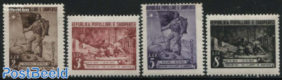 Liberation anniversary 4v
