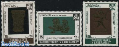 Arabic Gold Artefacts 3v