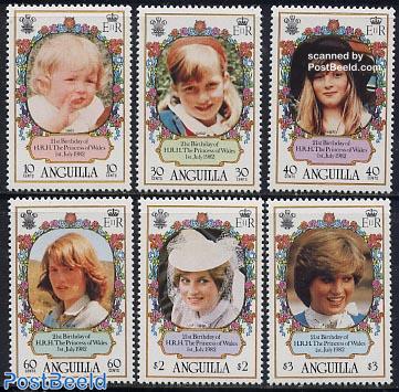 Princess Diana 6v