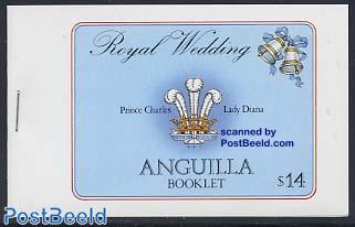 Charles/Diana wedding booklet