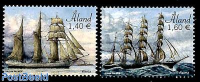 Sailing ships Vineta and Parma 2v