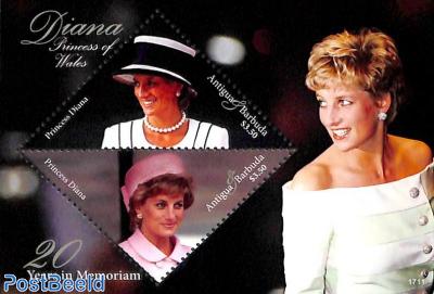 Princess Diana, 20 Years in Memoriam 2v m/s