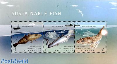 Sustainable fish 3v m/s