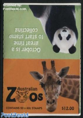 Australian Zoos foil booklet