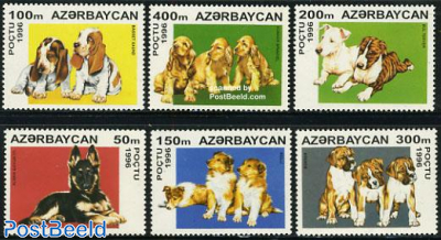 Dog puppies 6v