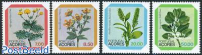 Regional flowers 4v