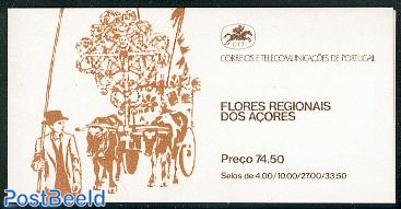 Flowers booklet