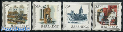 350 years parliament 4v