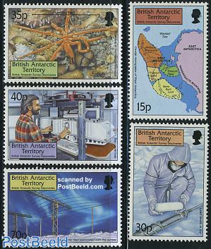 British antarctic survey 5v