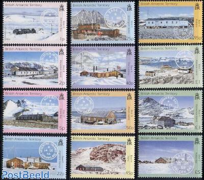 Post offices 12v (definitives)