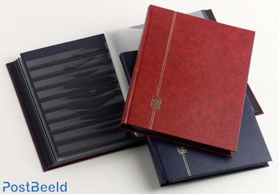Stockbook Nero F Red