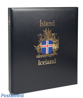 Luxe stamp album binder Iceland (without number)