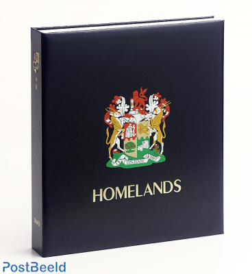 Luxe stamp album South African Homeland. I 1976-1989