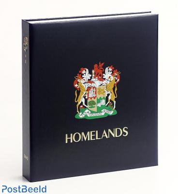 Luxe binder stamp album S. Africa Homeland. I