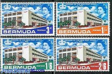 Hamilton post office 4v
