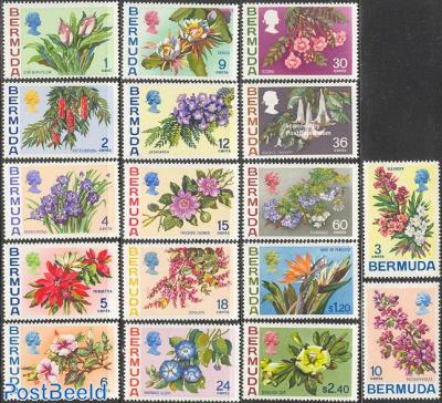 Definitives, flowers 17v