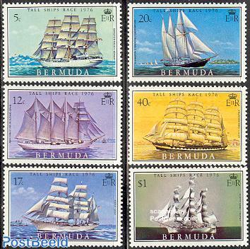 Tall ships 6v