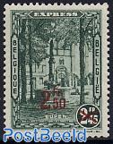 Express mail overprint 1v