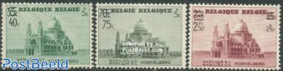 Koekelberg overprints 3v