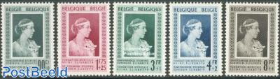 Queen Elizabeth fund 5v