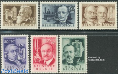 Famous inventors 6v
