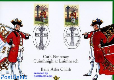 Fontenoy special card, joint issue Ireland