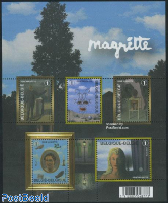 Magritte paintings 5v m/s