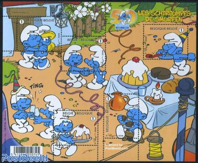 50 Years Smurfs 5v m/s